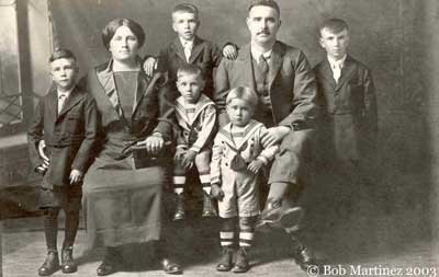 Martínez Family, West Virginia, a principios de los años 1920